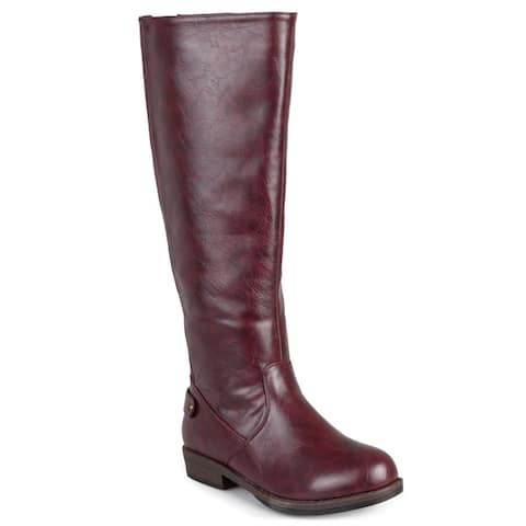 Journee Collection Womens Lynn Riding Boot