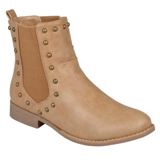 Hailey Jeans Co. Women's 'Bend' Studded Round Toe Ankle Booties