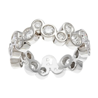 Diamonds For A Cure Platinum 1 1/2ct TDW 'Bubble' Ring (H-I, SI1-SI2)
