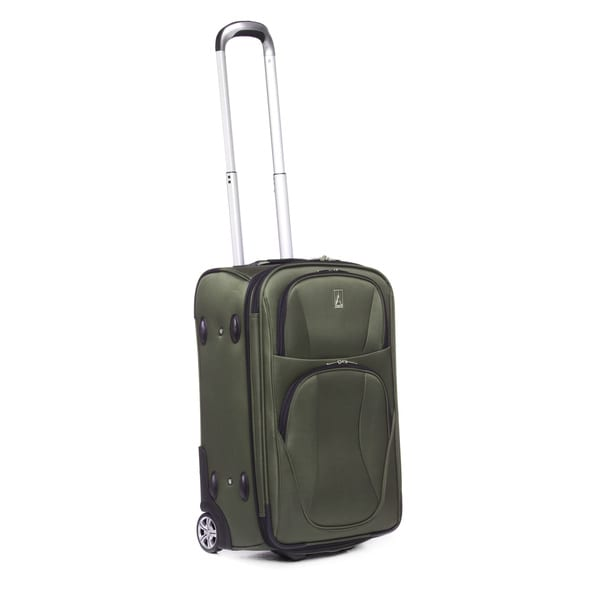 travelpro virtuair 22inch olive expandable carryon rollaboard upright - Travel Pro Luggage
