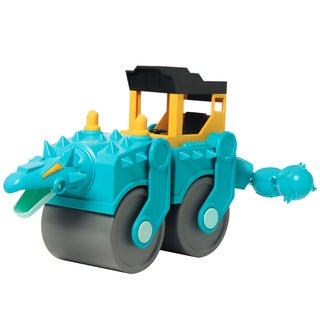 Educational Insights Dino Construction Company Spike the Ankylosaurus Steam Roller