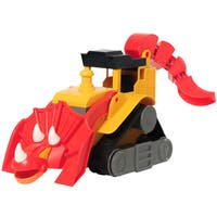 Educational Insights Dino Construction Company T-Top the Triceratops Bulldozer