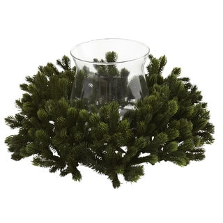 Pine Branches Candleabrum