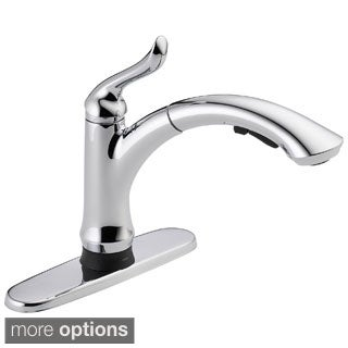 Delta Linden Single Handle Pull-Out Kitchen Faucet with Touch2O Technology