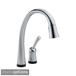 Delta Pilar Single Handle Pull-Down Kitchen Faucet with Touch2O Technology
