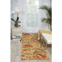 Waverly Global Awakening Imperial Dress Antique Area Rug by Nourison (2'6 x 8') - 2'6 x 8'