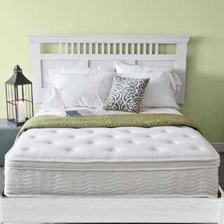 Priage Euro Box Top 12-inch Queen-size iCoil Spring Mattress