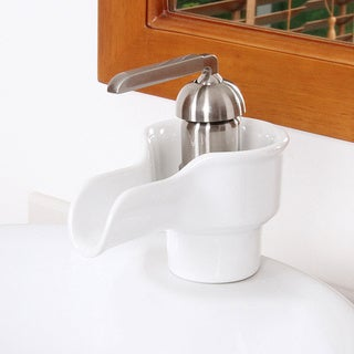 Elite A46OBN Modern Ceramic Bathroom Sink Facuet