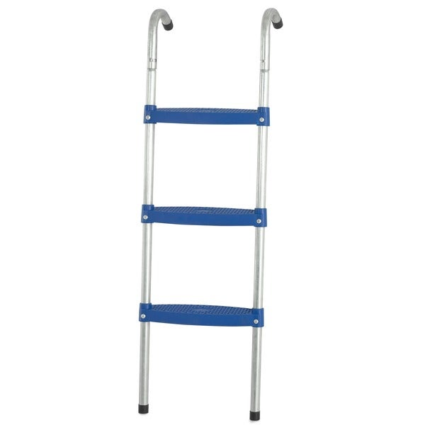 Upper Bounce Blue 42-inch Trampoline Ladder with 3-inch Wide Flat Step