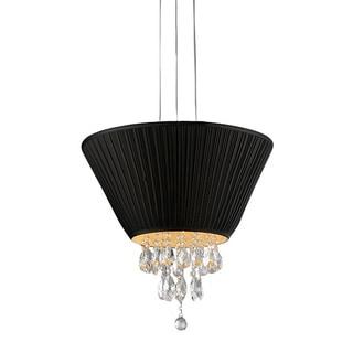Black Umbrella Crystal Chandelier