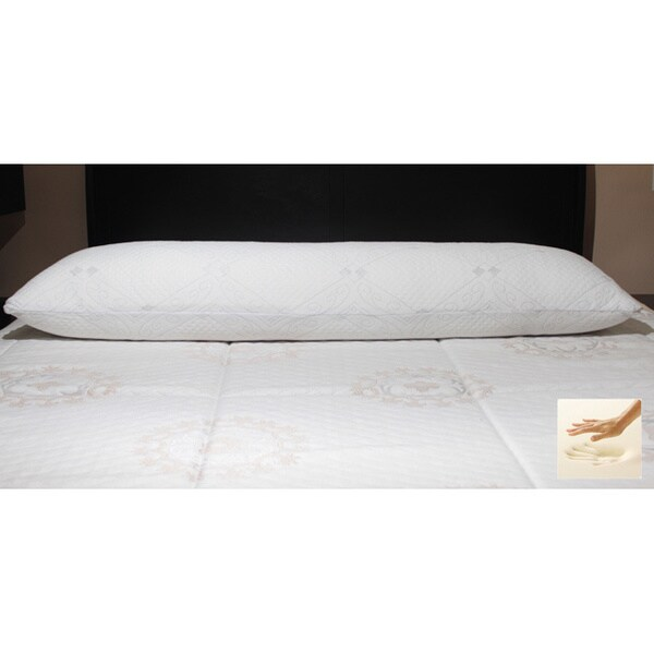 Memory Foam 50-inch Body Pillow