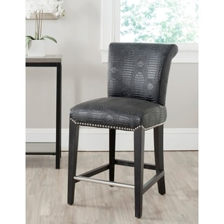 Safavieh 25.9-inch Seth Black Counter Stool