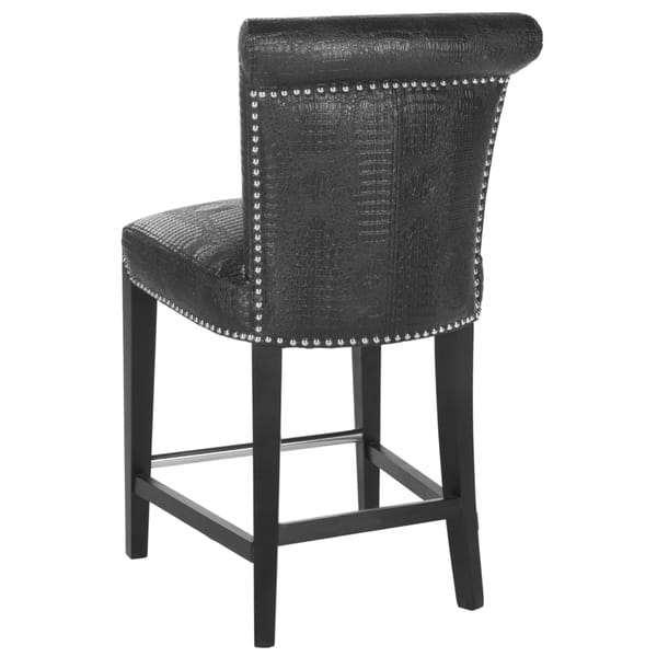 Terrific Shop Safavieh 25 9 Inch Seth Black Counter Stool 18 7 X Pabps2019 Chair Design Images Pabps2019Com
