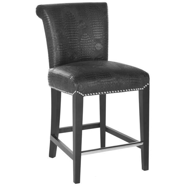 Brilliant Shop Safavieh 25 9 Inch Seth Black Counter Stool 18 7 X Pabps2019 Chair Design Images Pabps2019Com