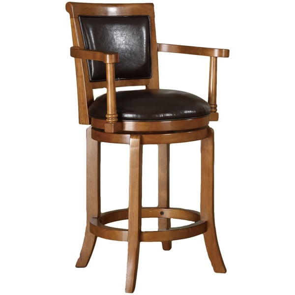 Manchester 24 Inch High Swivel Counter Stool In Classic