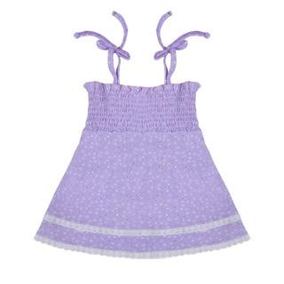 Funkoos Purple Star Organic Cotton Dress