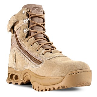 Desert Storm Men's Sand Suede and Nylon Work Boots - Free Shipping ...