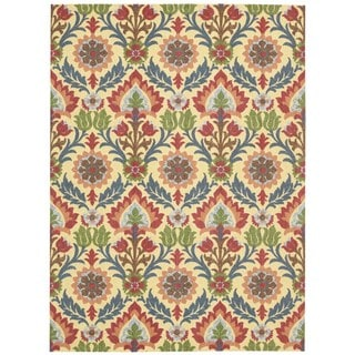 Waverly Global Awakening Santa Maria Spice Area Rug by Nourison (5' x 7')