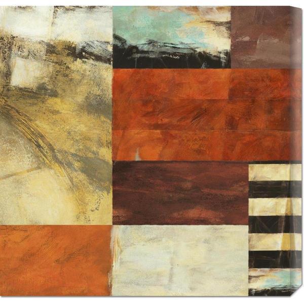 Global Gallery Leonardo Bacci 'Attimo I' Stretched Canvas