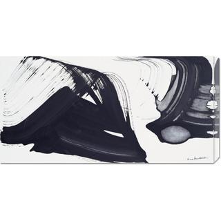 Global Gallery Nino Mustica '1996 venerdi 12 aprile' Stretched Canvas
