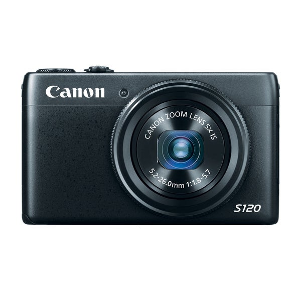 Canon Powershot S120 12.1MP Black Digital Camera