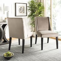 Safavieh En Vogue Dining Humphry Mushroom Taupe Dining Chairs (Set of 2)