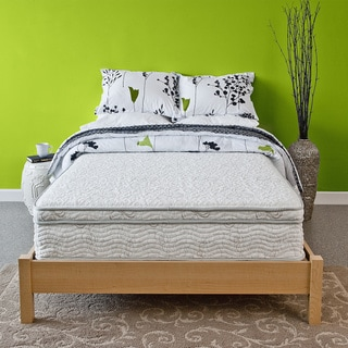 Priage Hybrid 11-inch Euro Box Top Queen-size Comfort Gel Memory Foam and iCoil Mattress