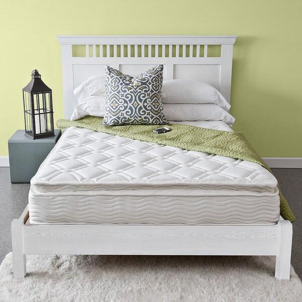Priage Pillow Top 10-inch King-size iCoil Spring Mattress