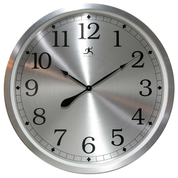 'Radiance' 31.5-inch Aluminum Wall Clock