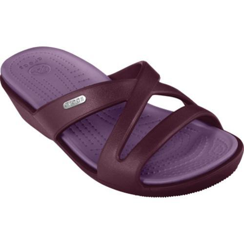 74267cff10b8 Shop Women s Crocs Patricia II Eggplant Lilac - Free Shipping On Orders  Over  45 - Overstock - 8344586