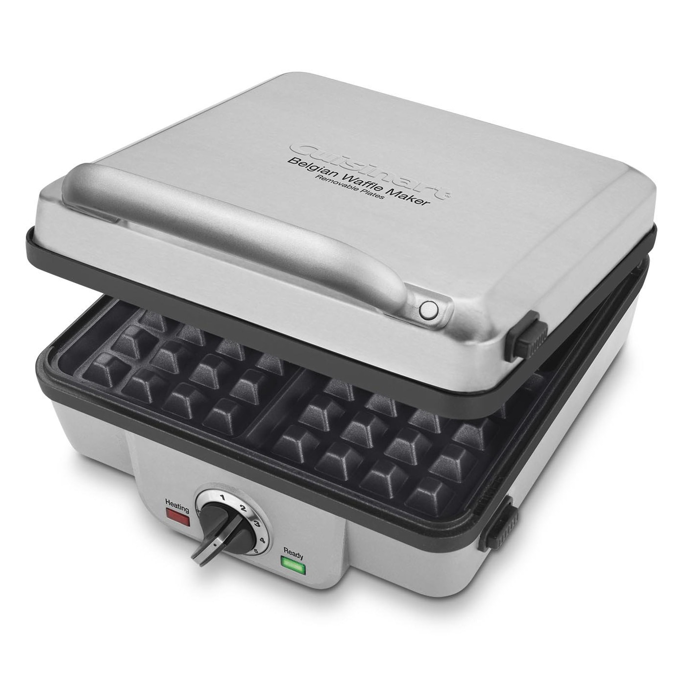 Cuisinart WAF-300 Belgian Waffle Maker with Pancake Plate...