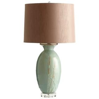 Cyan Design 'DeHaro' Olive Glazed Ceramic Table Lamp