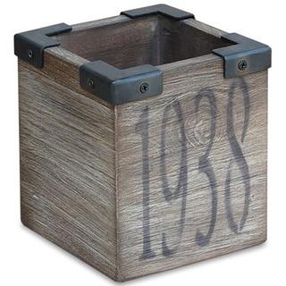 Decorative Rustic Wooden Utility Organizer