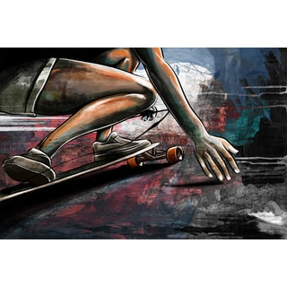 Maxwell Dickson 'Road Surfing' Canvas Wall Art
