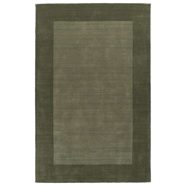 Borders Hand-Tufted Fern Wool Rug - 8' x 10'