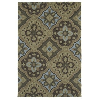 Seaside Chocolate Panel Indoor/Outdoor Rug (2'0 x 3'0)