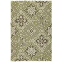 Seaside Green Panel Indoor/Outdoor Rug