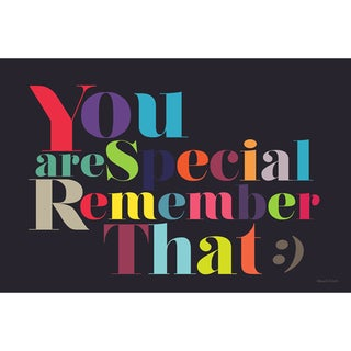 Maxwell Dickson 'You Are Special' Canvas Wall Art