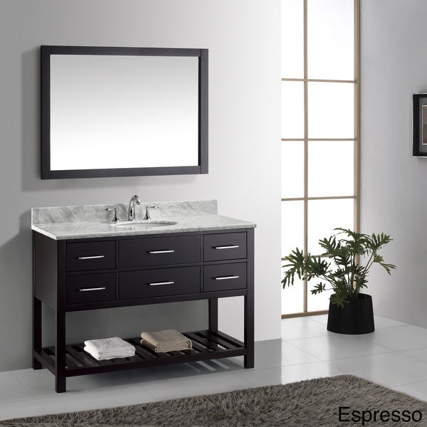 Shop Virtu Usa Caroline Estate 48 Inch Single Sink