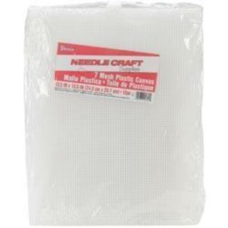 Plastic Canvas 7 Count 10-1/2 X13-1/2 Value Pack - Clear 12/Pkg
