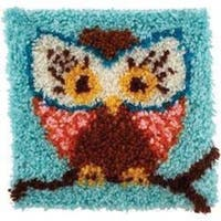 Wonderart Latch Hook Kit 12 X12  - Hoot Hoot