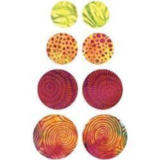 Go! Fabric Cutting Die - Circle -1-1/2 , 1-3/4 , 2-1/4 & 2-1/2