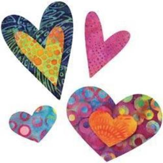 Go! Fabric Cutting Die - Queen Of Hearts -Four Sizes