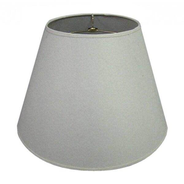 Hardback White Round Fabric Lamp Shade