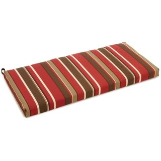 Blazing Needles 45-inch Designer Outdoor Bench Cushion