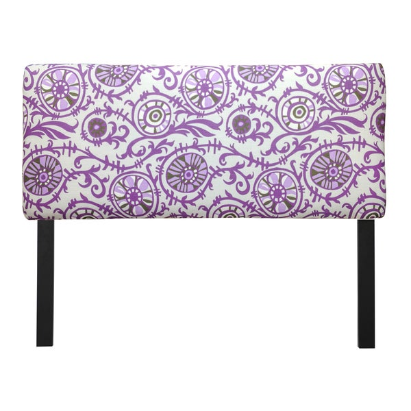 Upholstered Suzani Grapevine Headboard