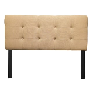 8-button Tufted Loft Sand Headboard