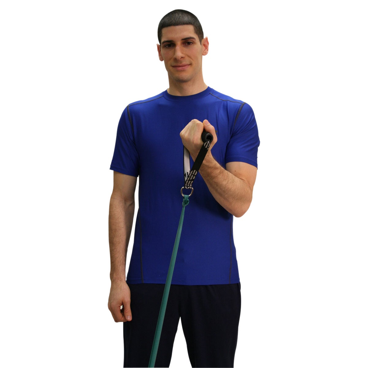 Fabrication Enterprises Cando Exercise Band handle with D...