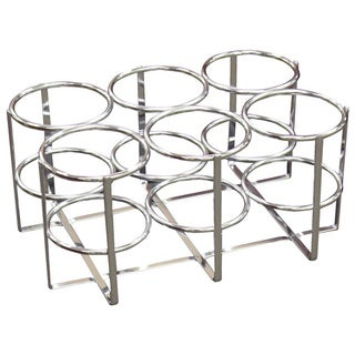 Drive Medical Economy Oxygen 6 Cylinder Rack (2 options available)