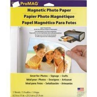 ProMag Magnetic Photo Paper - 8.5 X11 5 Sheets/Pkg